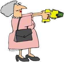 Grandma With A Stun Gun