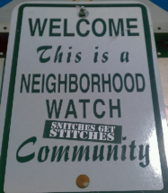 neighborhood watch with low income
