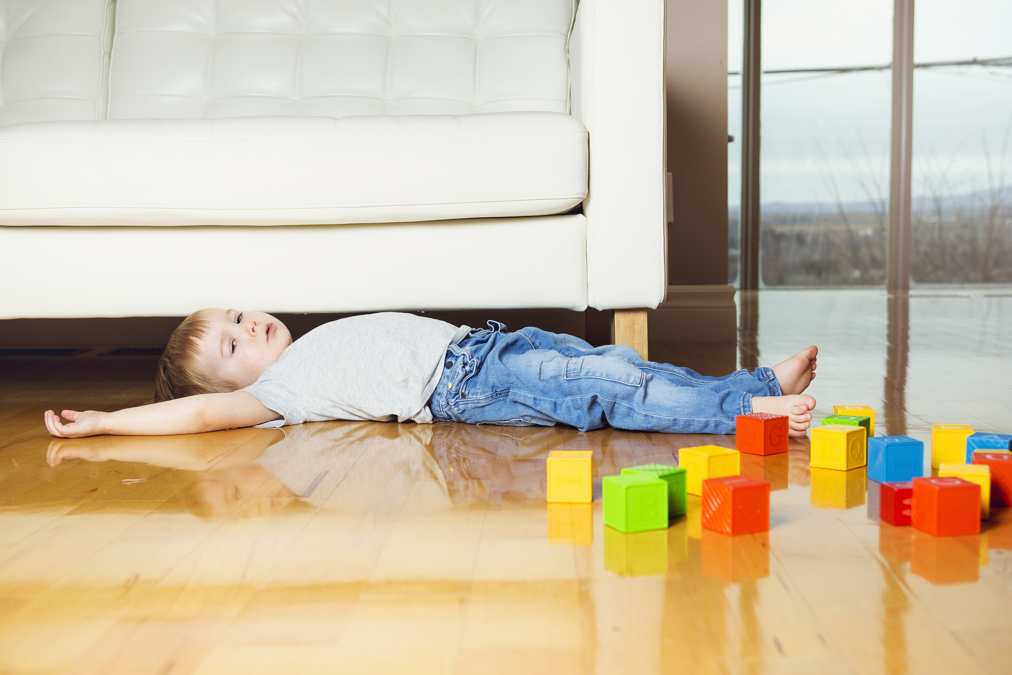 kid proofing house